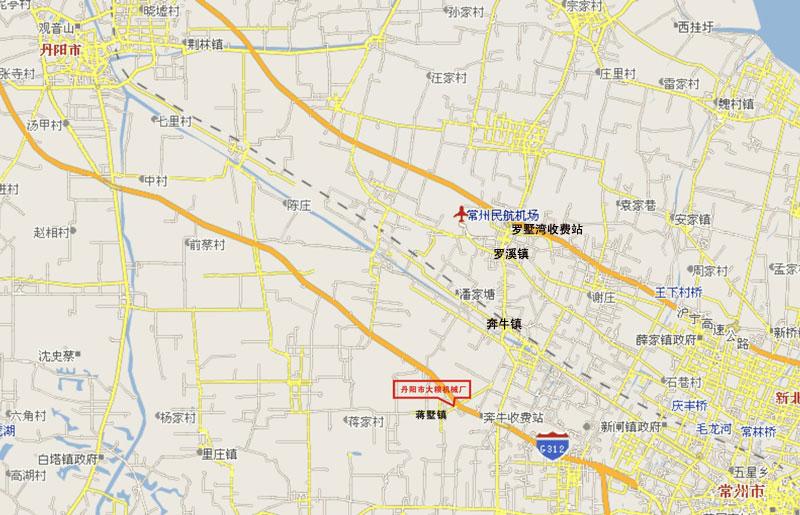 镇江丹阳电子地图